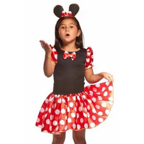 Fantasia Carnaval Minnie Miney Minie - Pronta Entrega