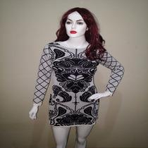 Vestidos Feminino Tricot Manga Longa Curto Modelo 2016