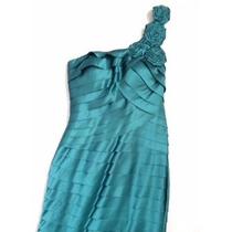 Vestido Longo De Festa Casamento Madrinha Verde Esmeralda
