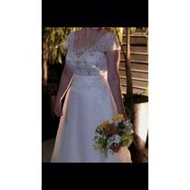 Vestido De Noiva Camille La Vie - Bordado A Mão - Importado