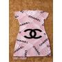 Vestido Atacado Mickey Minnie Chanel Feminino Curto