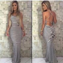 Vestido Longo Sereia Moda Verao 2016