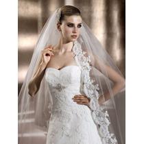 Vestido Pronovias Com Mantilha - Modelo Berta - Nº 44
