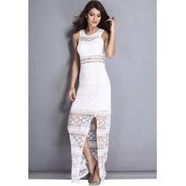 Vestido Revellion/ano Novo/branco/trash The Dress/-p/entrega