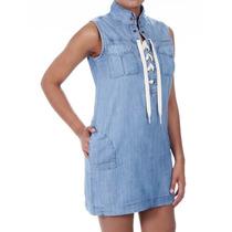 Sawary Vestido Jeans Feminino Sabrina Sato