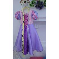 Fantasia Infantil - Vestido Rapunzel