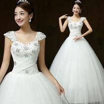 Vestido De Noiva Princesa Com Alça + Anagua
