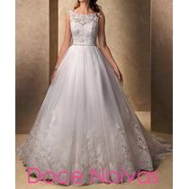 Vestido De Noiva Maravilhoso Novo Pronta Entrega