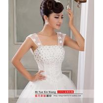 Vestido De Noiva Pedraria Barato Tamanhos Pp A Og3 Kl45