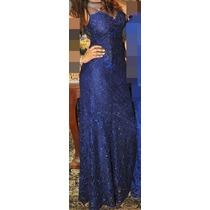 Vestido Madrinha / Formatura Azul Royal