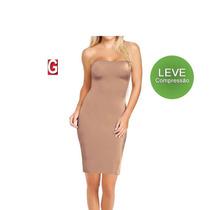 Vestido Segunda Pele Cinta Modeladora