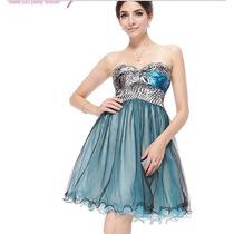 Vestido Ever Pretty Tomara-que-caia Com Saia Em Tule