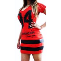 Vestido College (esportivo) Planet Girls C/ Detalhe Em Couro