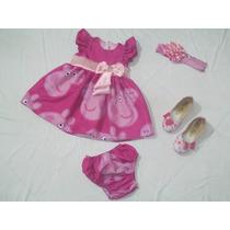 Vestido De Festa Peppa Pig Rosa