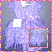 Vestido De Festa Infantil Luxo Sofia - Promoção