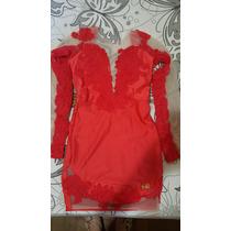 Vestido Vermelho Maria Gueixa