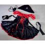 Fantasia Pirata Feminina Vestido Acessórios Festa Carnaval