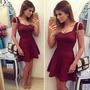 Vestido Importado Vinho - Pronta Entrega