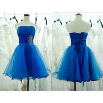 Vestido Curto Debutante 15 Anos Festa Princesa