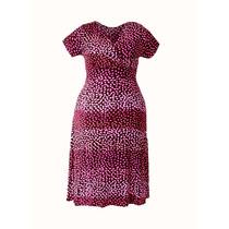 Gordinha Elegante Vestido Plus Size Feminino Verão Festa