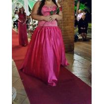 Vestido De Festa Ou Debutante Com Cristais Swarovski