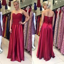 Vestido Para Madrinha Novo C/ Etiqueta !!!!! Rosa Pink
