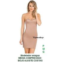 Modelador Vestido Cinta Calça Body Bore Segunda Pele Anágua
