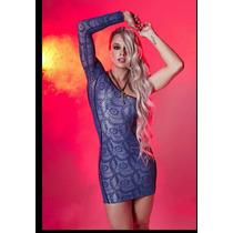 Vestido Juju Salimen Panicat Max Glamm Super Fashion