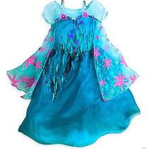 Lindo Vestido Frozen Fever Elsa Fantasia - Tamanho 4