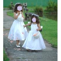 Vestido Infantil Daminha Casamento Tam 5 - Importado- Lindo!