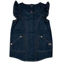 Vestido Infantil Jeans Lilica Ripilica Novo Original