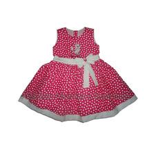 Vestido Festa Gatinha Marie Pink/branco 1 A 4 Anos