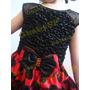Vestido Fantasia Infantil Minnie / Joaninha / Minie Mod Luxo