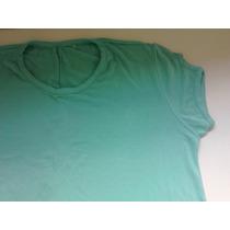 Vestido Bata Ou Blusa Verde Comprida Manga Curta Nova Linda