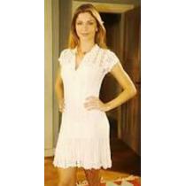 Vestido Em Crochê - Modelo Da Grazi - Lindo!!!