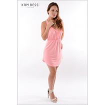 Vestido Neon Com Bolso - Kam Bess - Ve0455
