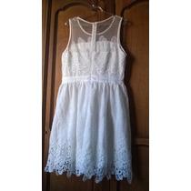 Lindo Vestido De Noiva Curto De Renda Importada