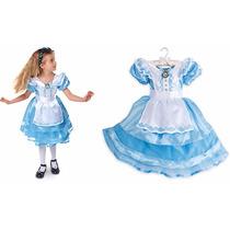 Vestido Fantasia Alice No Pais Das Maravilhas Disney Store