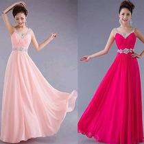 Vestido Longo Lindo Formatura, Casamento, Baile, Madrinha