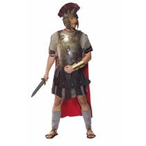 Fantasia Gladiador Romano Luxo Tam. Único ( 40 A 48)