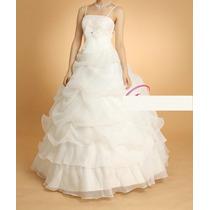 Vestido De Debutante - Tam. 38 - Pronta Entrega - Vn00195
