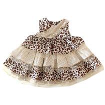 Vestido De Festa Infantil Feminino Social Tamanho P
