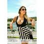 Vestido De Listra Com Tule - Kam Bess - Ve0898