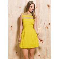 Vestido Amarelo - Tamanhos Plus Size - Roupa Festa