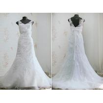 Vestido Noiva Promoção Tule Renda Decotev-linhaa