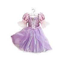 Fantasia Rapunzel Original Disney Store 7/8 Anos