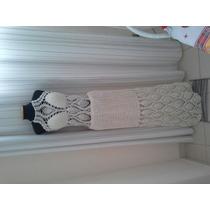 Vestido Longo De Crochê