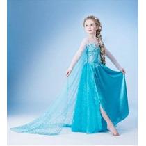Fantasia Disney Frozen Princesa Anna Coroação Luxo P Entrega