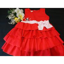 Vestido Minnie - Vivendo No Mundo Da Fantasia!!!