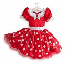 Fantasia Minnie Mouse Vermelha - Original Disney